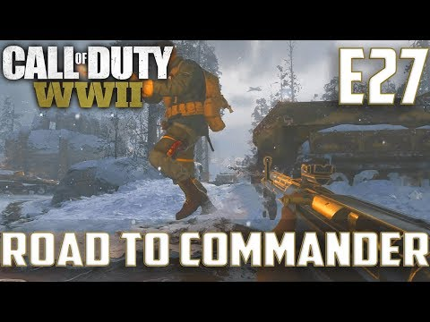 Call Of Duty World War 2(RTC)PS4 Ep.27-FFA On Ardennes Forest,Sainte Marie Du Mont(STG 44 Gameplay)