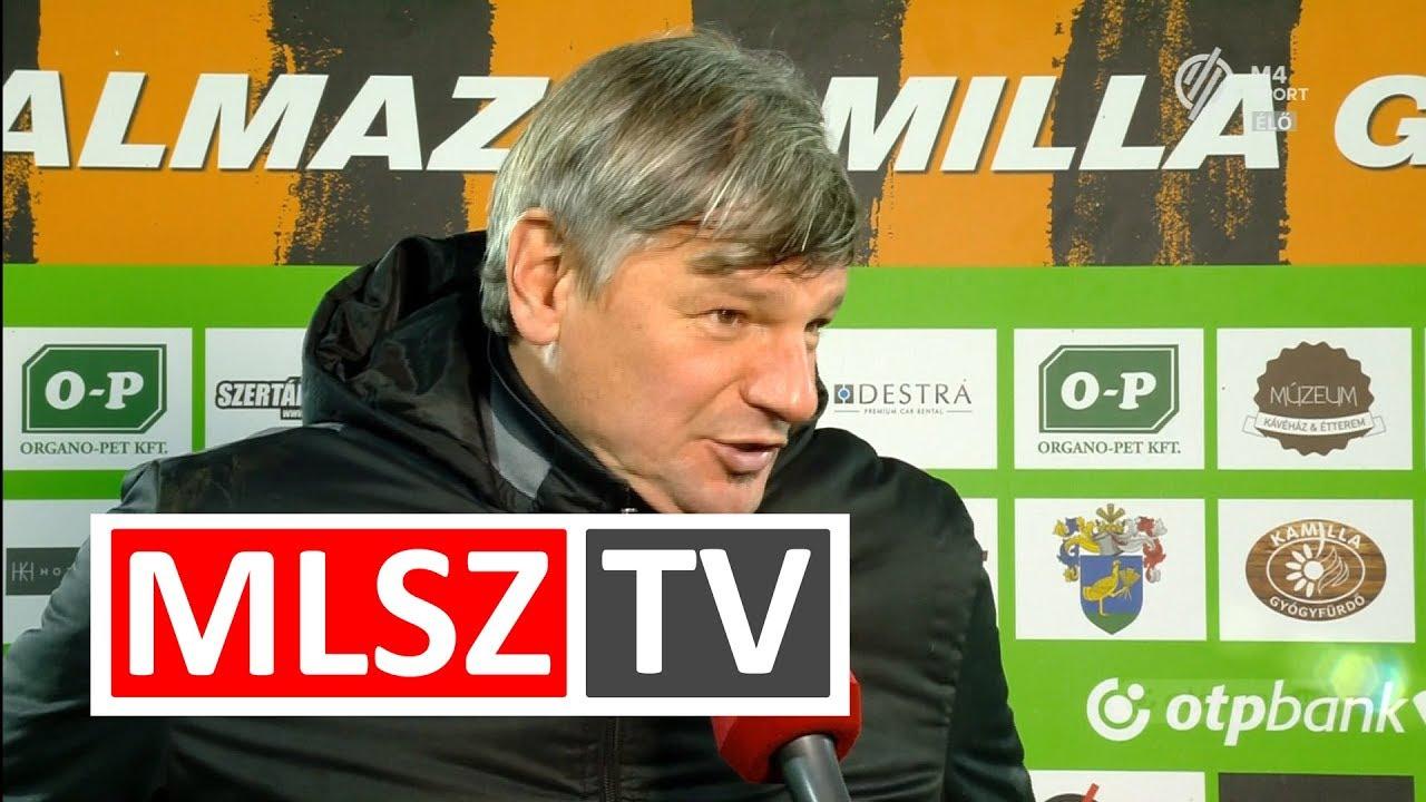 Edzői értékelések a Balmaz Kamilla Gyógyfürdő - Puskás Akadémia FC mérkőzésen