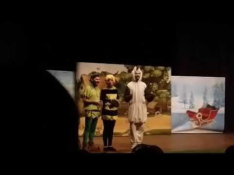 Arı maya ve Peter pan karlar ülkesinde müzikli danslı çocuk oyununa gittim.Biraz paylaşıyorum.Eğlen