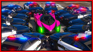 GTA 5 Roleplay - 5000HP DEVEL 16 DESTROYING COPS | RedlineRP