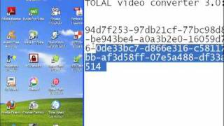 Serial key for Total video converter 3.0