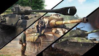 Какой танк сильнее? - М26 Першинг vs ИС-2 vs Tiger 2 H - War Thunder