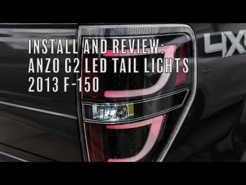anzo g2 led tail lights (2009-2014 f-150)