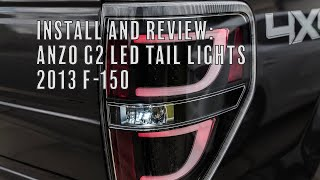 Install & Review: ANZO G2 LED Tail Lights (2009-2014 F-150)
