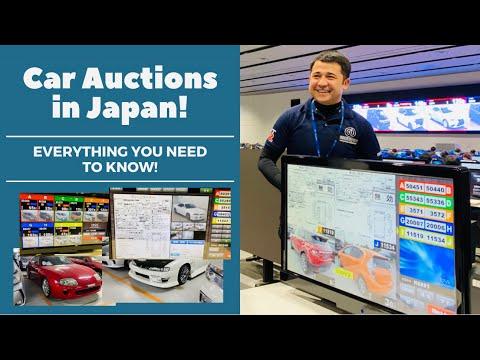 Japan car auction. How auctions work in Japan. Part 1.