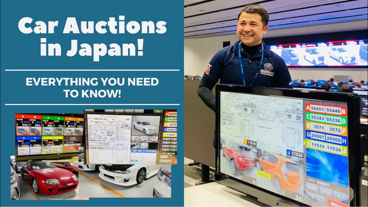 Japan Car Auction How Auctions Work In Japan Part 1 Youtube
