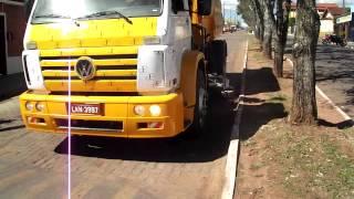 Apresentação Caminhão Varredeira Volkswagen 15 180 - Itobi - SP