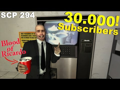 Never Drink SCP 294 Special 30.000 Subscribers