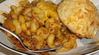 Hamburger-macaroni Casserole