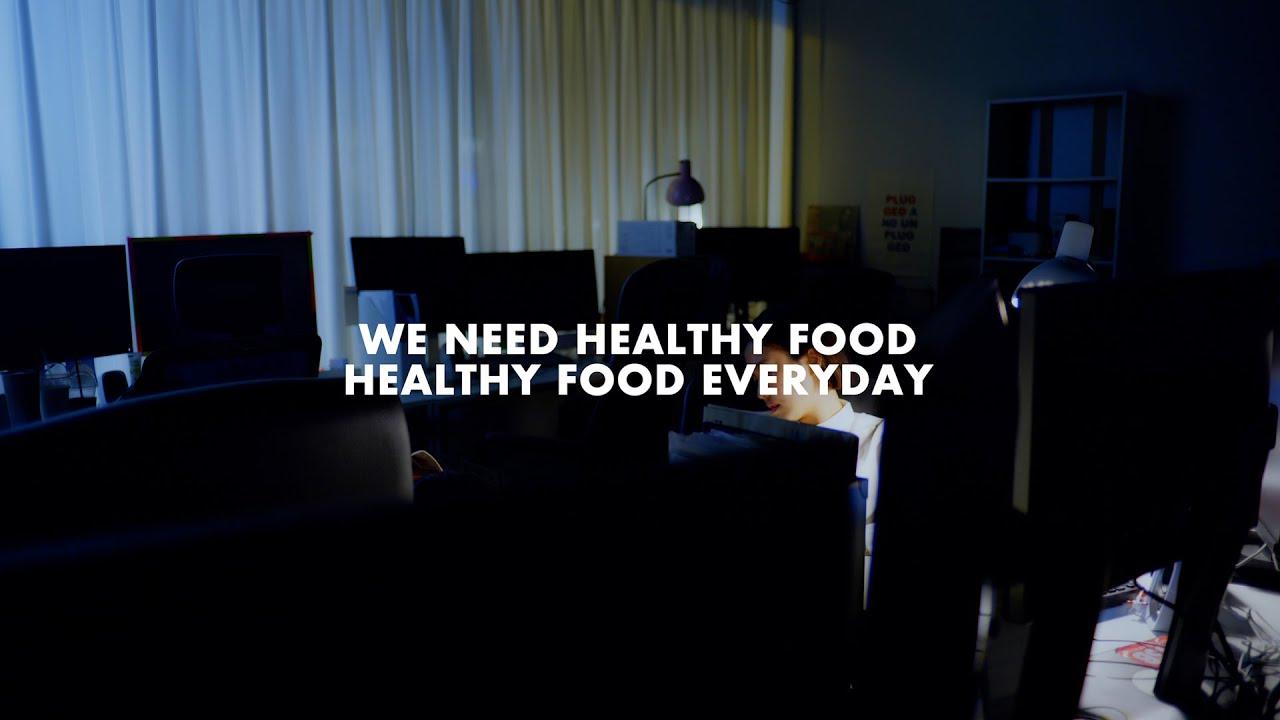 """민수 (Minsu) """"WE NEED HEALTHY FOOD"""""""