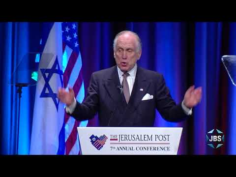 Ronald S. Lauder, President of the World Jewish Congress  at the 7th Annual JPost Conference in NY