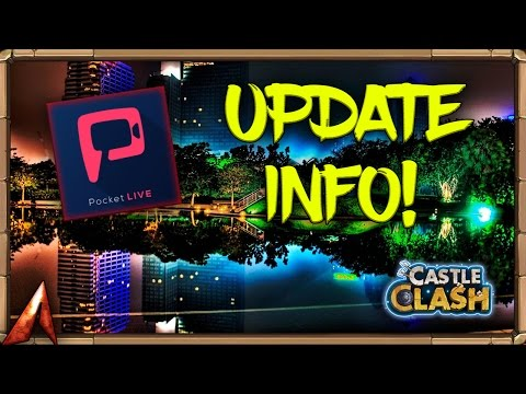 Castle Clash Update News! Guild Treasure! More Coming Today!