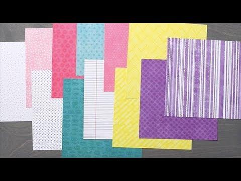 Super Duper Girl Paper Pack | Creative Memories Australia