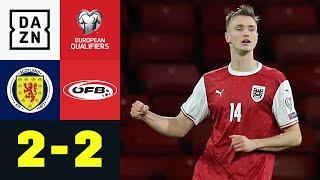 Doppelter Kalajdzic & Fallrückzieher: Schottland – Österreich 2:2 | UEFA European Qualifiers