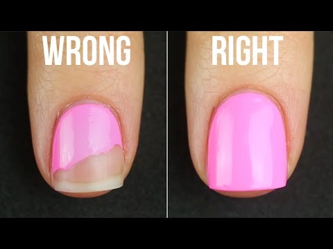 HOW TO KEEP YOUR POLISH FROM PEELING/CHIPPING (NAIL POLISH 101 ...