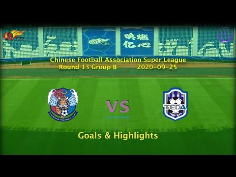 Qingdao Huanghai Tianjin Teda Goals And Highlights