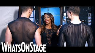 Alexandra Burke as Roxie in Chicago | First look behind the scenes
