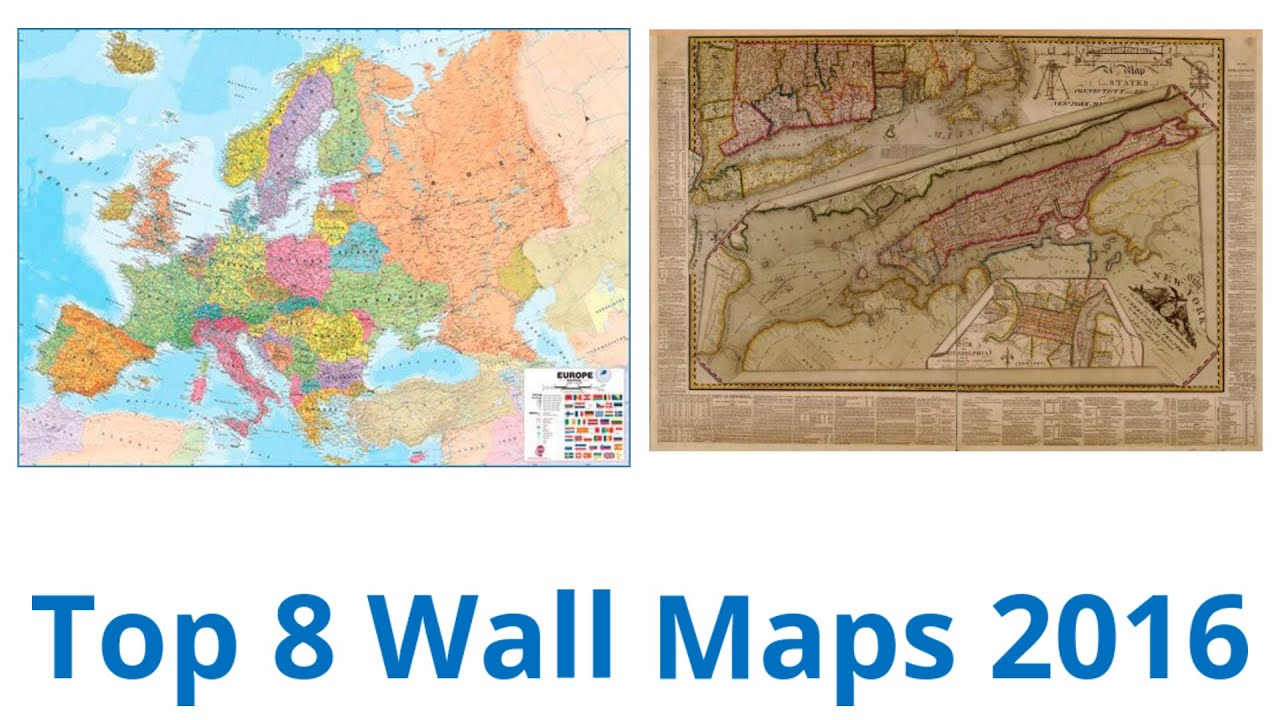 Best Wall Maps YouTube - Wall maps