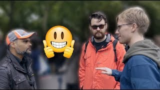 Speakers Corner: [ 01-10-17 ] Interesting discussion between Br-Hashim and two Canadian Gentleman