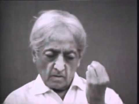 Jiddu Krishnamurti: In Total Silence The Mind Comes Upon The