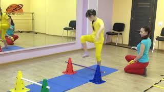 Школа Волшебства  Синдром Дауна, РАС  Художественная гимнастика  Первый месяц обучения  Без предмет