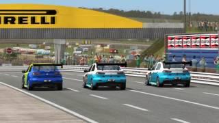Automobilista Lancer RS 3 Wide battle Johannesburg