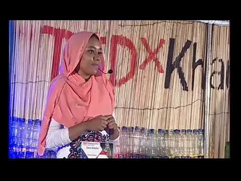 Embracing my braids | Sara Akasha | TEDxKhartoum
