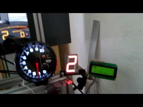 Diy Gtr2 Gear Indicator And Lcd Tachometer Youtube