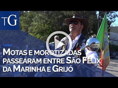 Motas e motorizadas passearam entre São Félix da Marinha e Grijó