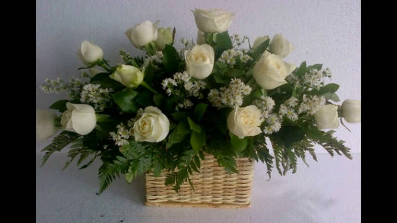 Contoh Karangan Bunga Meja Indah Dan Cantik