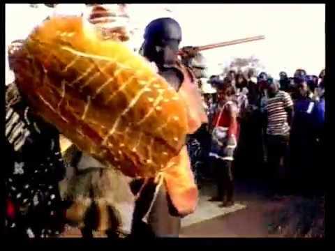 Carnival in Guinea Bissau - West Africa - Circa- 1996