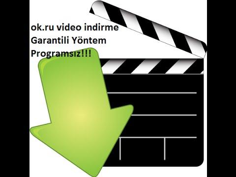 Ok.ru Film indirme Programsız