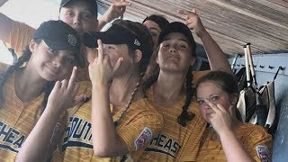 Girls Little League Softball Team DISQUALIFIED for Flipping the Bird