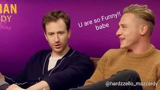 Hardzello : Joe can't take his eyes off of Ben!