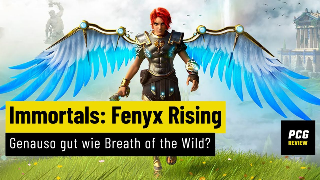 Immortals: Fenyx Rising | REVIEW | Genauso gut wie Breath of the Wild?