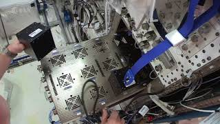 Space Station: Horizons science – installing ICE Cubes