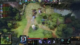 KuroKy mitando de rubick contra a VP na Dream League @SangueV