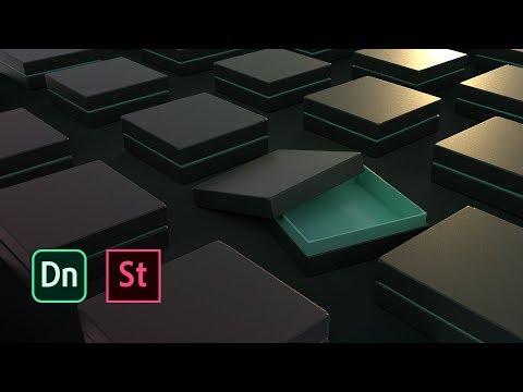 Packaging 3D pour les graphistes avec Dimension | Adobe France