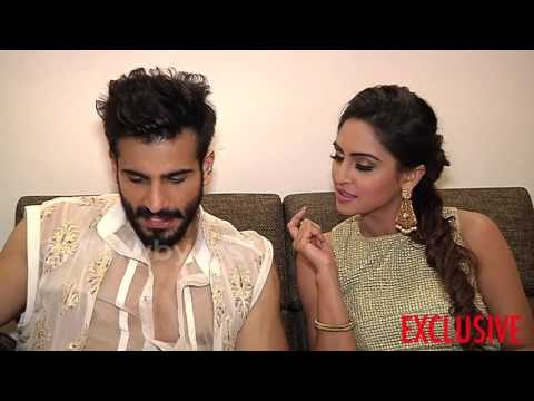 Karan Tacker and Krystle Dsouza receive gifts from fans PART 1