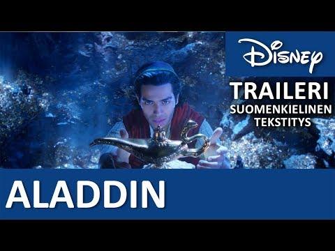 ALADDIN - Teasertraileri   Elokuvateattereissa keväällä 2019   Disney Suomi