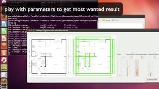 python QT openCV Line Detection Demo & Code Walk Through