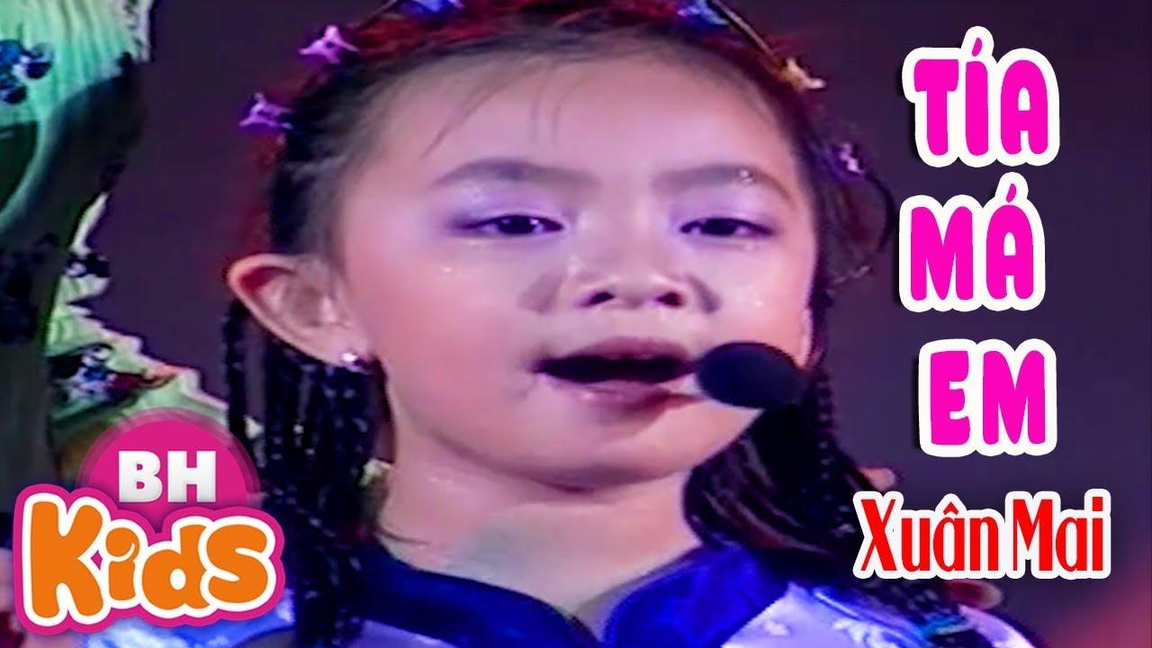 Xuân Mai - Ca sĩ Bích Phượng hát Tân Cổ - Tía Má Em - Thần Đồng Âm Nhạc Nhí Việt Nam