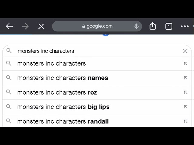 Monsters Inc Characters Youtube