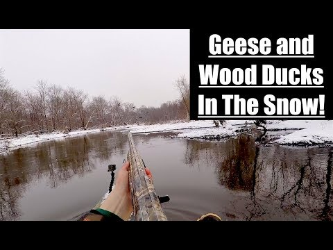 Waterfowl Hunting 2018 : Jump Shoot On The River