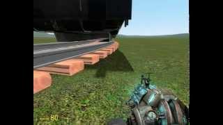 Как сделать поезд в игре garrys mod