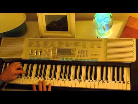 How to Play ~ Amazing Grace ~ Keys Eb, F, Gb-F#, G ~ American Hymn