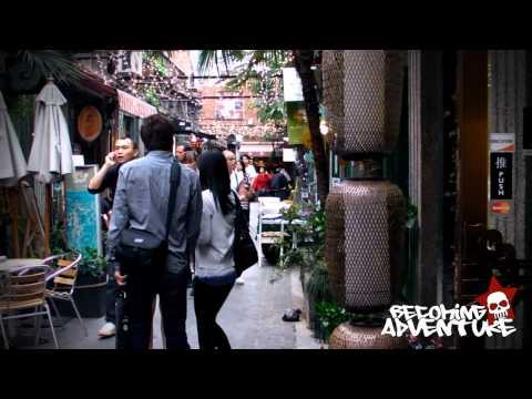 Adventure #80 China Moments: Shanghai's shopping area Tianzafang.