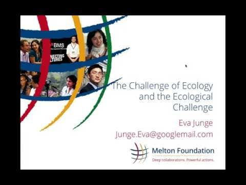 Melton Share: The Challenge of Ecology and the Ecological Challenge (with Eva Junge)
