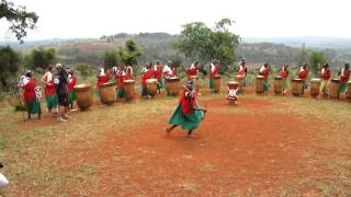 The Royal Drummers of Burundi (Gishora Village) oct.2011