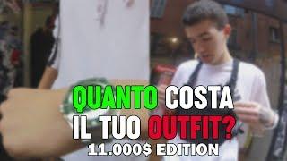 QUANTO COSTA IL TUO OUTFIT? 11.000€ IN UN SOLO OUTFIT: Rolex,Gucci,D&G ...